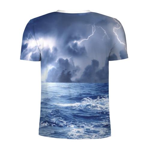 Мужская футболка 3D спортивная  Фото 02, Шторм