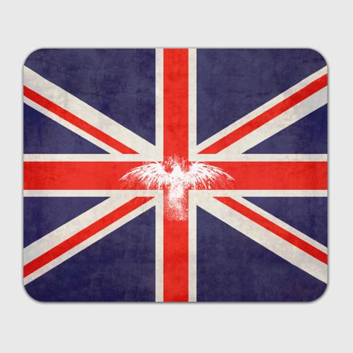 Флаг Англии с белым орлом