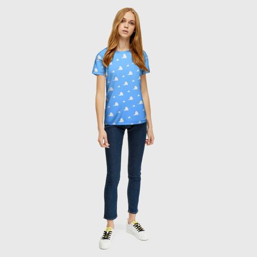 Женская футболка 3D Облака Фото 01