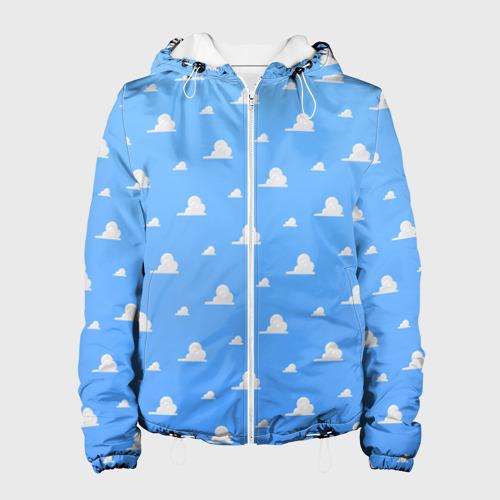 Женская куртка 3D  Фото 01, Облака