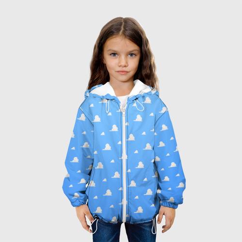 Детская куртка 3D  Фото 04, Облака