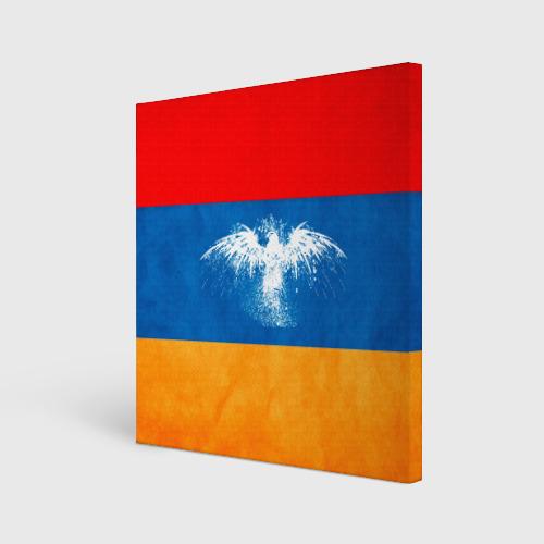 Флаг Армении с белым орлом