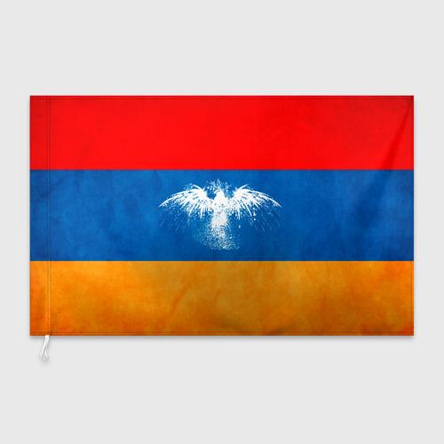 Флаг 3D  Фото 03, Флаг Армении с белым орлом