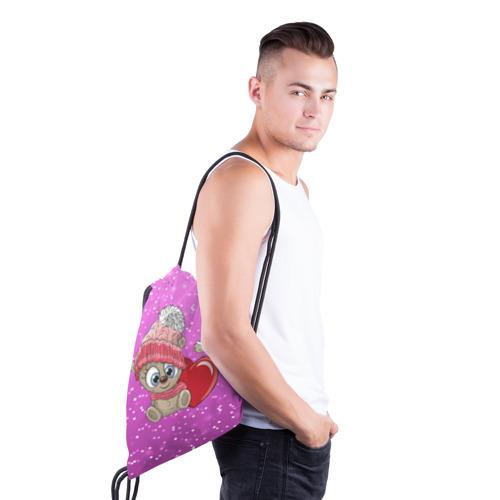 Рюкзак-мешок 3D  Фото 03, Teddy baby