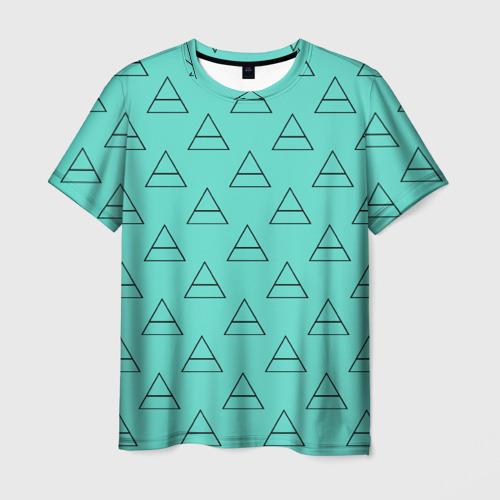 Мужская футболка 3D  Фото 01, Триада