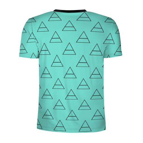Мужская футболка 3D спортивная  Фото 02, Триада