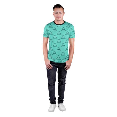 Мужская футболка 3D спортивная  Фото 04, Триада