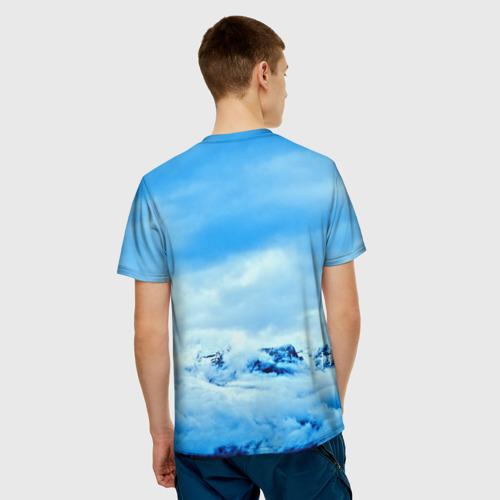Мужская футболка 3D  Фото 02, Siberian Husky