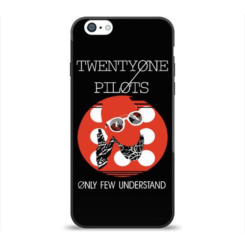 Чехол для Apple iPhone 6 силиконовый глянцевый Twenty one pilots Фото 01