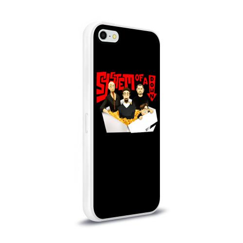 Чехол для Apple iPhone 5/5S силиконовый глянцевый System Фото 01