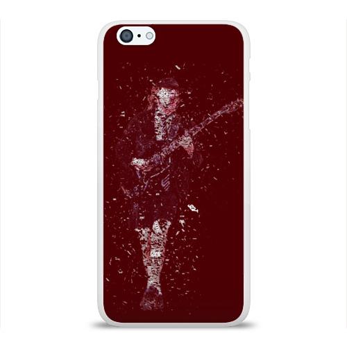 Чехол для Apple iPhone 6Plus/6SPlus силиконовый глянцевый  Фото 01, Red