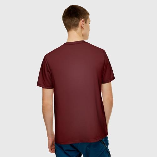 Мужская футболка 3D  Фото 02, Red