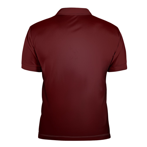 Мужская рубашка поло 3D  Фото 02, Red