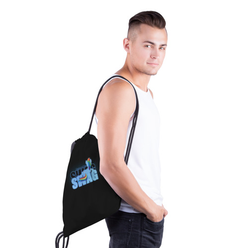 Рюкзак-мешок 3D  Фото 03, Rainbow Dash Swag