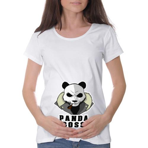 Футболка для беременных хлопок  Фото 01, Panda Boss