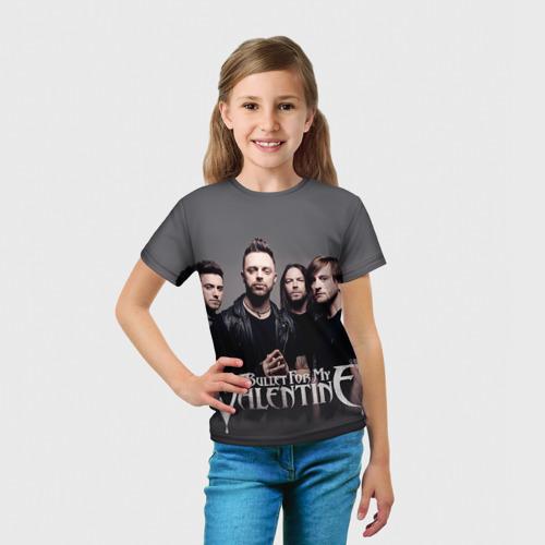 Детская футболка 3D  Фото 03, Bullet For My Valentine