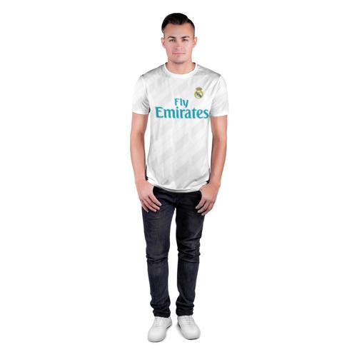 Мужская футболка 3D спортивная Real Madrid Фото 01