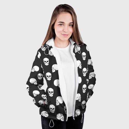 Женская куртка 3D  Фото 04, Черепа