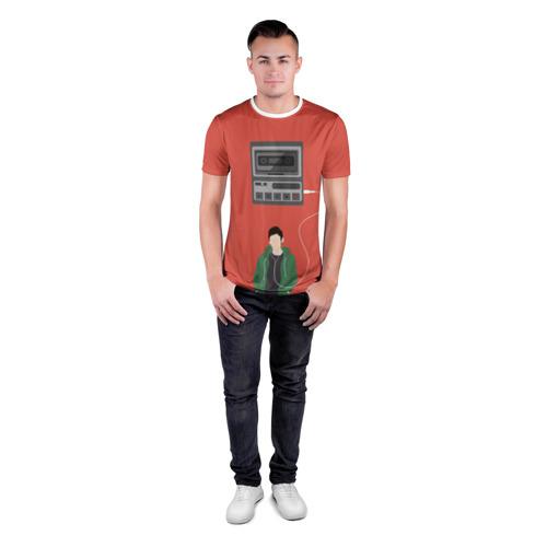 Мужская футболка 3D спортивная  Фото 04, 13 reason why
