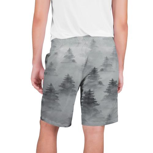 Мужские шорты 3D  Фото 02, Туманный лес