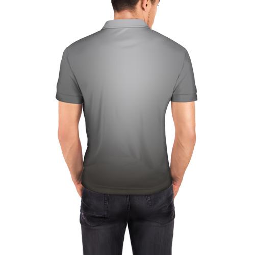 Мужская рубашка поло 3D  Фото 04, Forest Monkeys