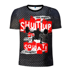 Powerlifting shut up and squat