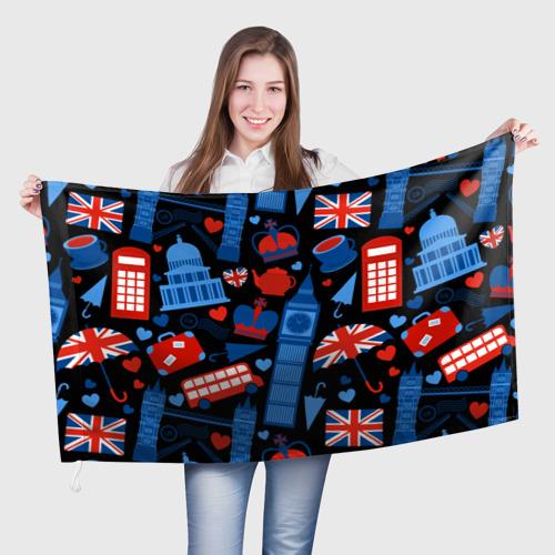 Флаг 3D Великобритания Фото 01