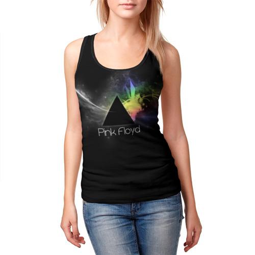 Женская майка 3D  Фото 03, Pink Floyd Logo