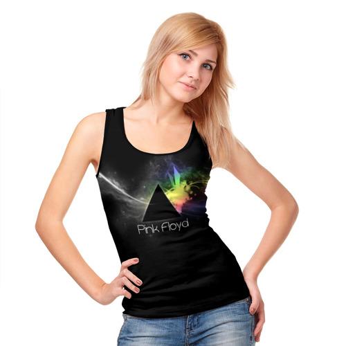 Женская майка 3D  Фото 05, Pink Floyd Logo