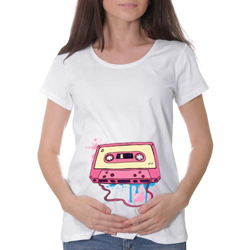 Футболка для беременных хлопок  Фото 01, Аудиокассета