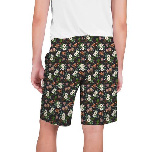 Мужские шорты 3D  Фото 02, Цветы