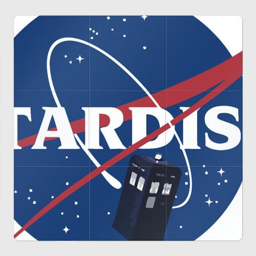 Магнитный плакат 3Х3 Tardis NASA
