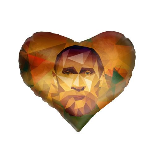 Подушка 3D сердце  Фото 01, Бородатый Путин