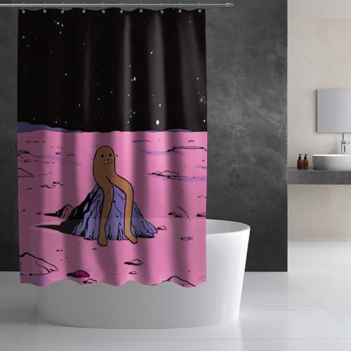 Штора 3D для ванной  Фото 02, JDM
