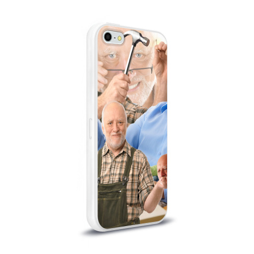Чехол для Apple iPhone 5/5S силиконовый глянцевый  Фото 02, Улыбка