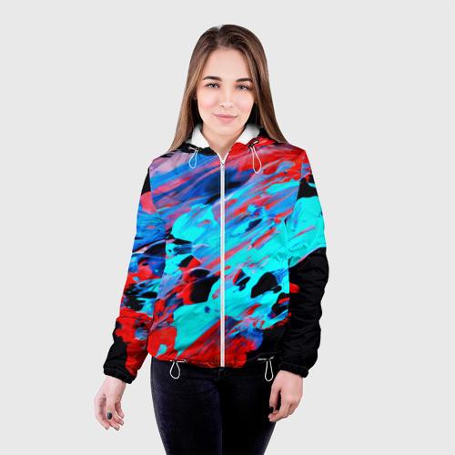 Женская куртка 3D  Фото 03, Краски лета