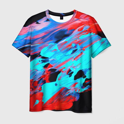 Мужская футболка 3D  Фото 01, Краски лета