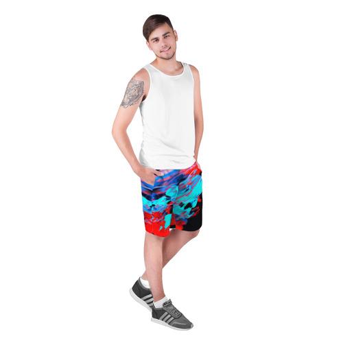 Мужские шорты 3D  Фото 03, Краски лета