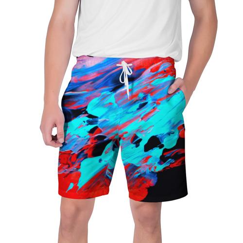 Мужские шорты 3D  Фото 01, Краски лета