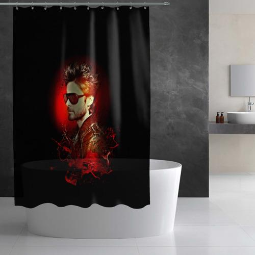 Штора 3D для ванной Jared Leto Фото 01