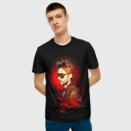 Мужская футболка 3D Jared Leto Фото 01