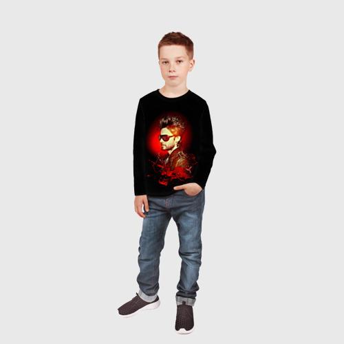 Детский лонгслив 3D Jared Leto Фото 01