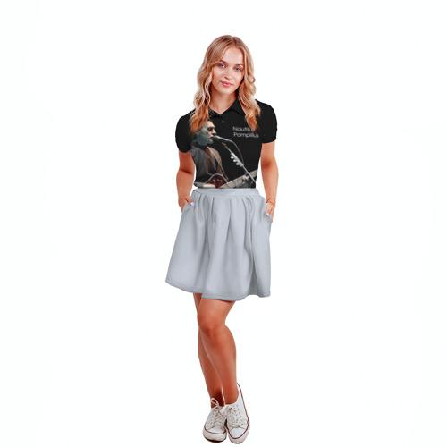 Женская рубашка поло 3D Наутилус Помпилиус Фото 01