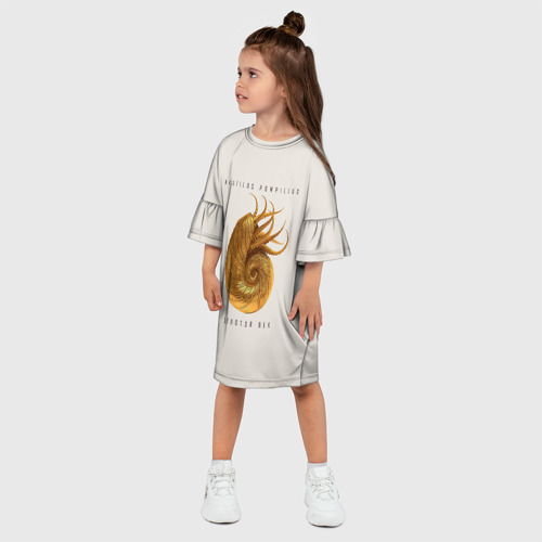 Детское платье 3D Золотой век Фото 01