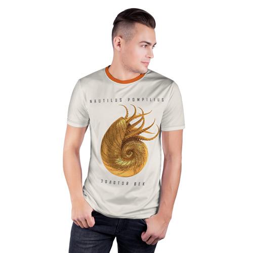Мужская футболка 3D спортивная Золотой век Фото 01