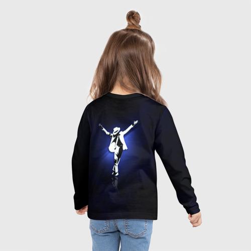 Детский лонгслив 3D Майкл Джексон Фото 01