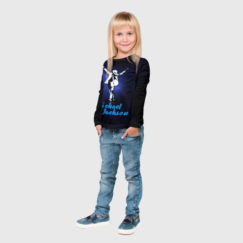 Детский лонгслив 3D  Фото 04, Майкл Джексон