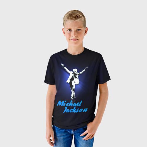 Детская футболка 3D Майкл Джексон