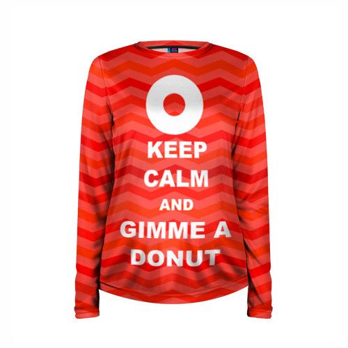 Женский лонгслив 3D для беременных  Фото 03, Gimme a donut