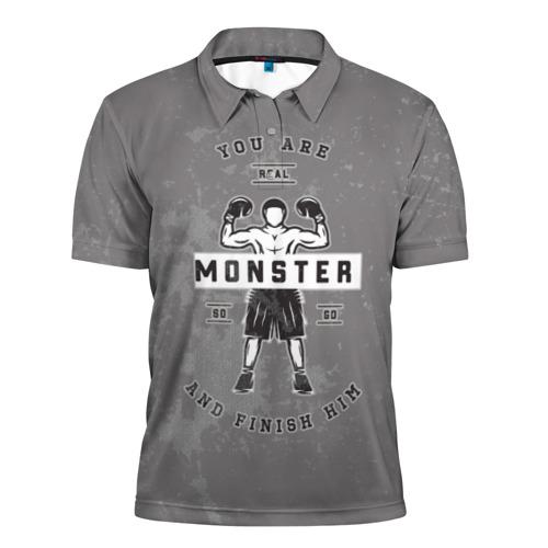 Мужская рубашка поло 3D  Фото 01, Бокс